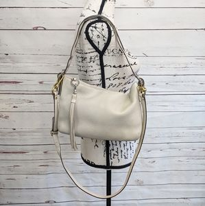 Coach Pebbled Leather Hobo Bag
